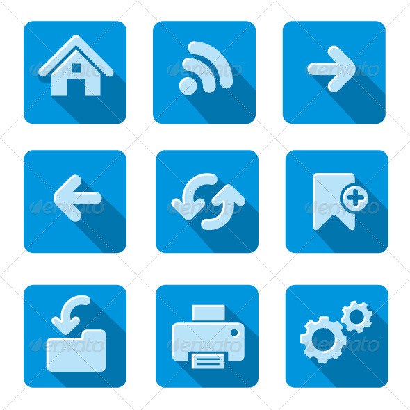 GraphicRiver Web Icons 8350734