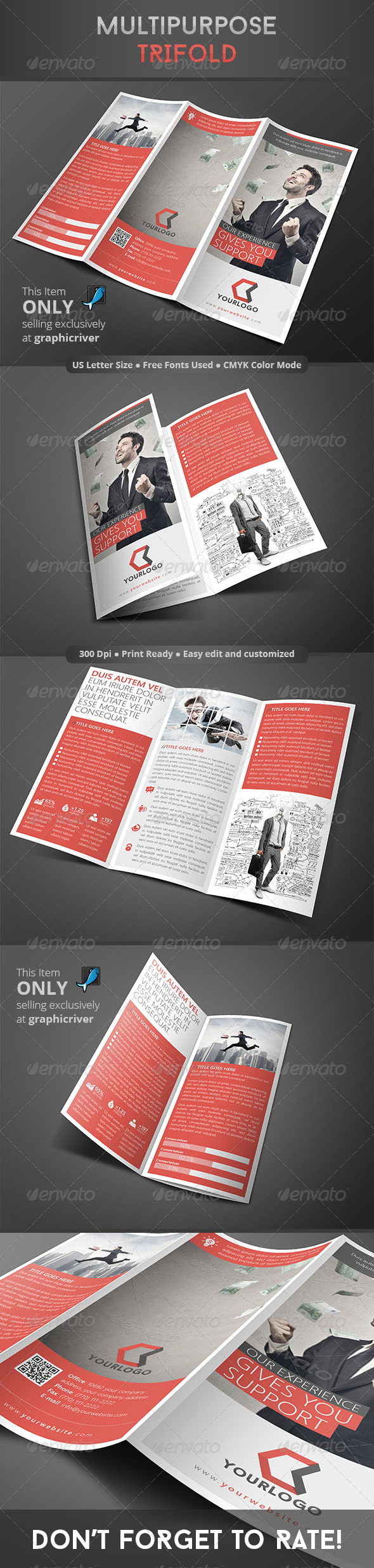 GraphicRiver Multipurpose Trifold 8350738