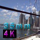 Downtown Manhattan View From Brooklyn Bridge - VideoHive Item for Sale