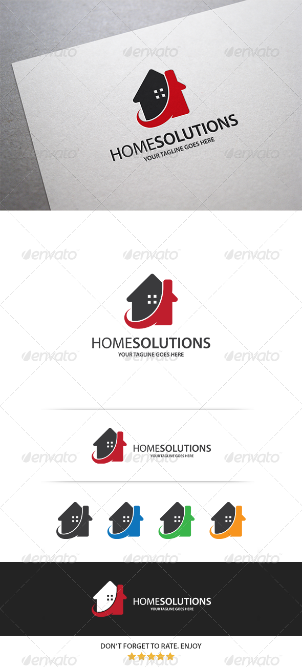 GraphicRiver Home & Office Logo 8351916
