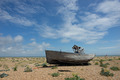 Abandoned fishing boat at Dungeness. - PhotoDune Item for Sale