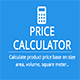 Custom Woocommerce Measure Price Calculator