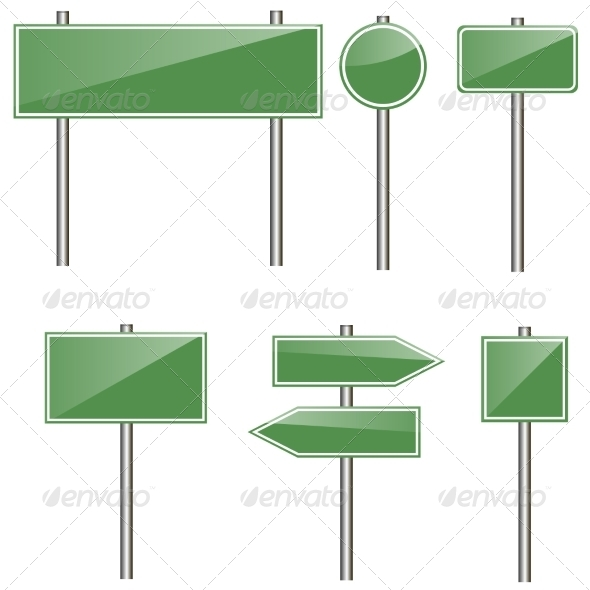 GraphicRiver Road Signs 8352698