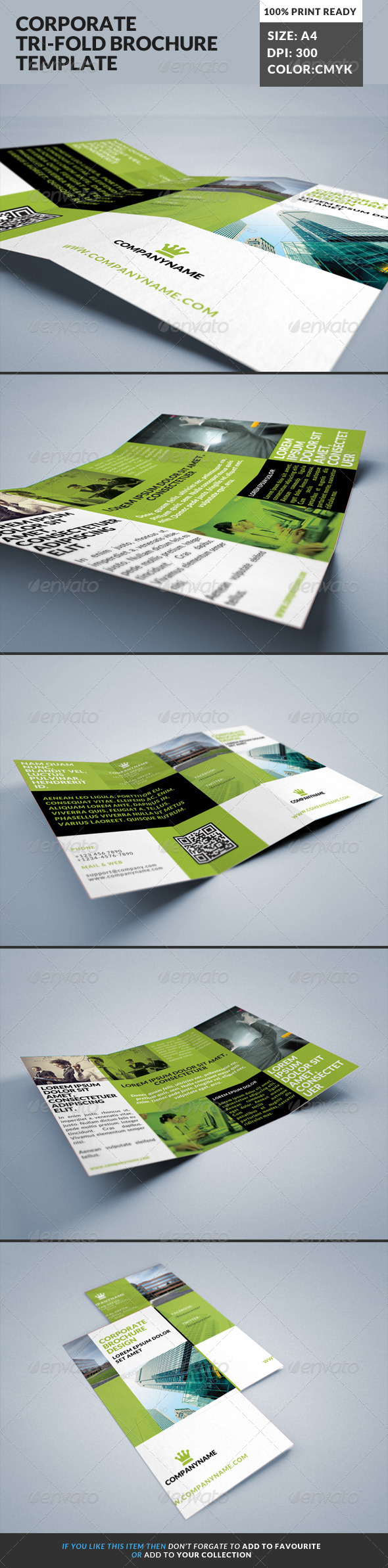 GraphicRiver Corporate Tri-Fold Brochures Template 17 8352958