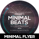 Minimal Beat's Event Flyer Design - GraphicRiver Item for Sale