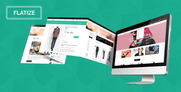 Flatize - Fashion eCommerce PSD Template - Fashion Retail