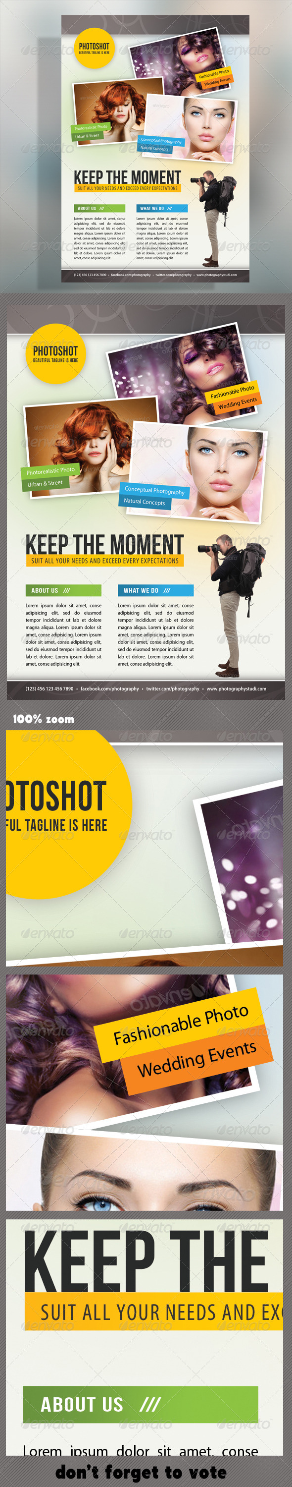 GraphicRiver Photograph Product Multipurpose Flyer 08 8353055
