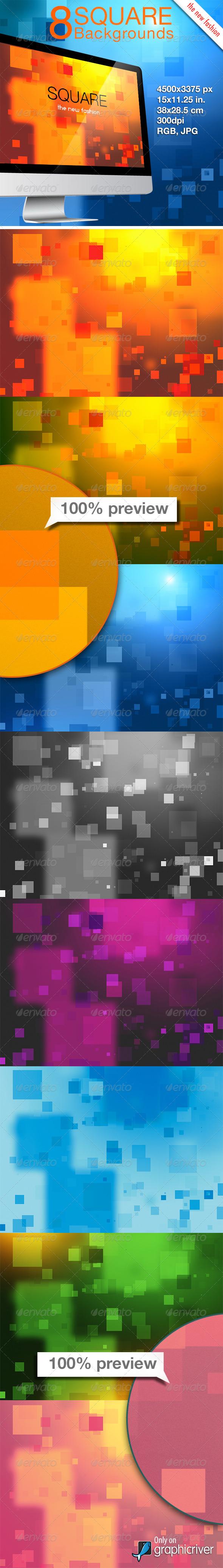 GraphicRiver Square Background 8353081