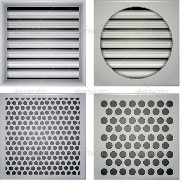 GraphicRiver Illustration of Ventilation Shutters 8353314