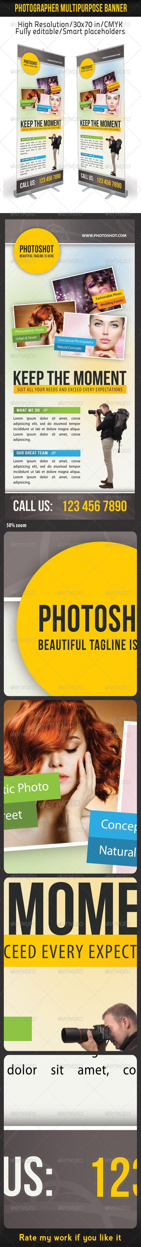GraphicRiver Photograph Product Multipurpose Banner 10 8353477