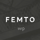 Femto - Responsive One Page Photography Theme - ThemeForest Item for Sale