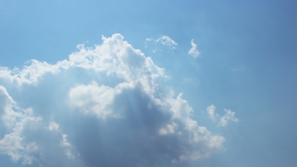 Clouds Pierced By The Sun 4