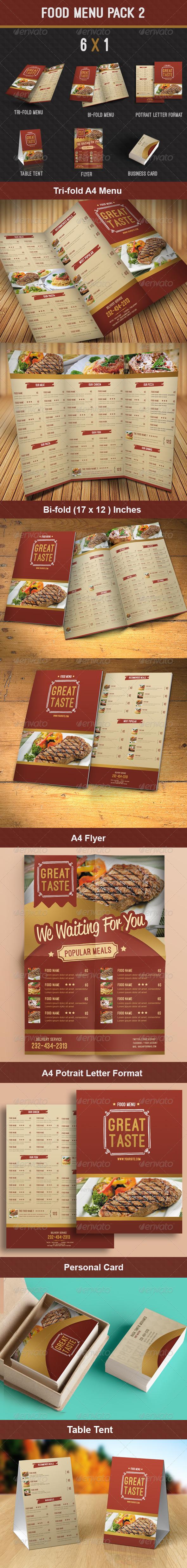 GraphicRiver Food Menu Pack 2 8353801