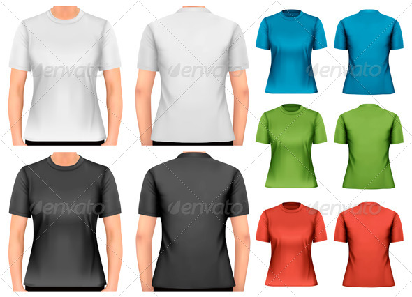 GraphicRiver A Woman Body with a Shirt On 8354084