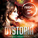 Dystopia Party Flyer - GraphicRiver Item for Sale