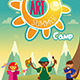 Art Summer Camp Poster - GraphicRiver Item for Sale
