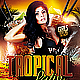 Tropical Latin Party PSD Flyer - GraphicRiver Item for Sale