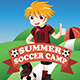 Soccer Summer Camp Poster - GraphicRiver Item for Sale