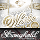 Vintage White Royale Party Flyer Template