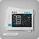 Horizontal Letter Magazine / Brochure Mock-up 2 - GraphicRiver Item for Sale