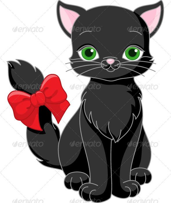GraphicRiver Black Cat 8354354