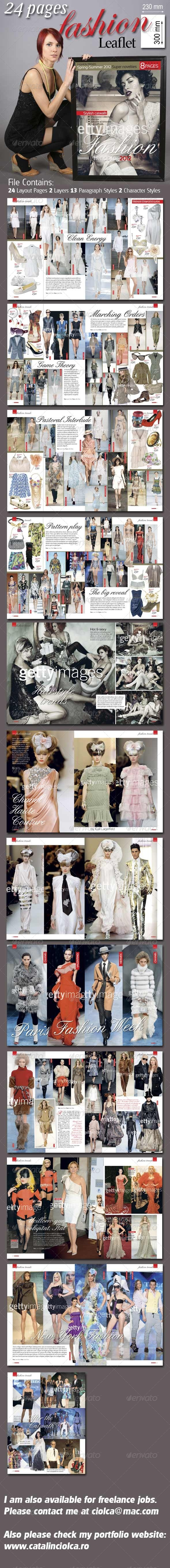 GraphicRiver 24 Pages Fashion Leaflet 670280