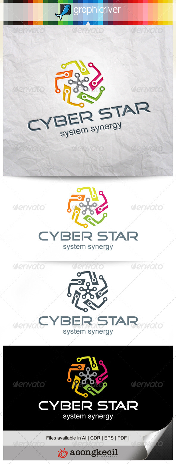 GraphicRiver Cyber Star V.4 8354603
