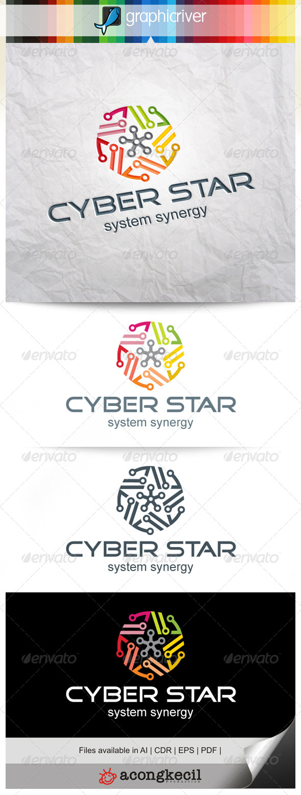 GraphicRiver Cyber Star V.5 8354705