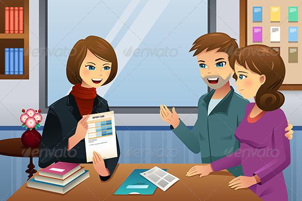 GraphicRiver Parents Teacher Meeting 8354856