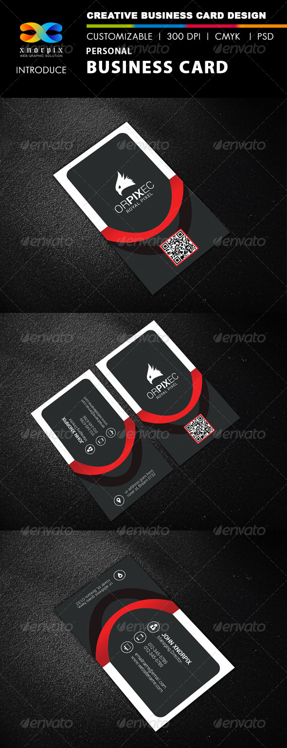 GraphicRiver Personal Business Card 8355292
