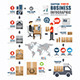 Infographic Shipping World Business Template - GraphicRiver Item for Sale