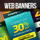 Multi-Purpose Web Marketing Banners