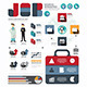 Infographic Business World  Job Template - GraphicRiver Item for Sale