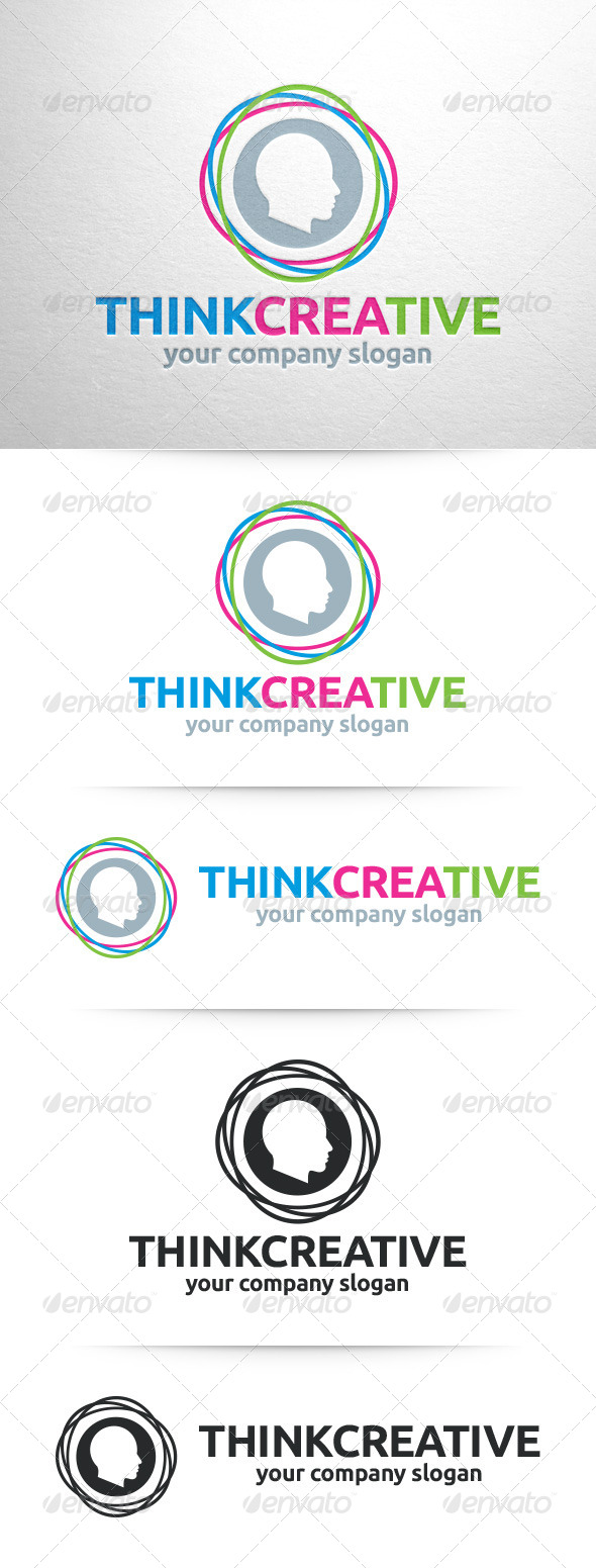 GraphicRiver Think Creative Logo Template 8357694