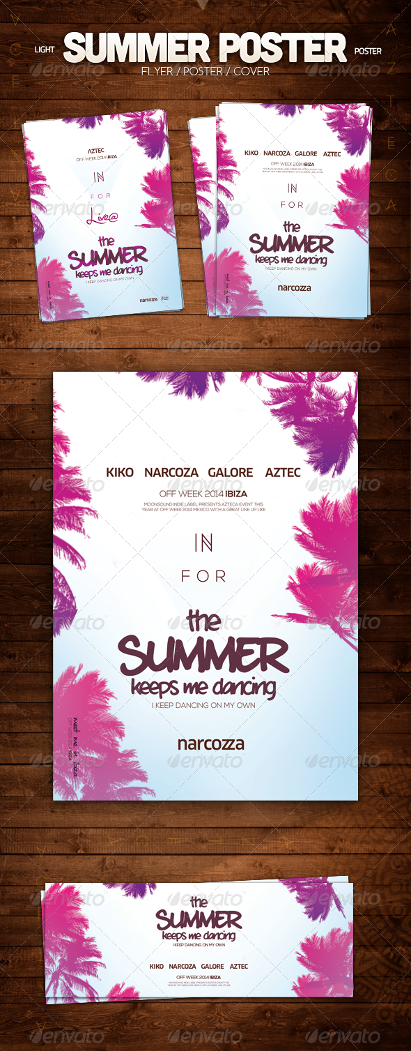 GraphicRiver Summer Poster 8358218