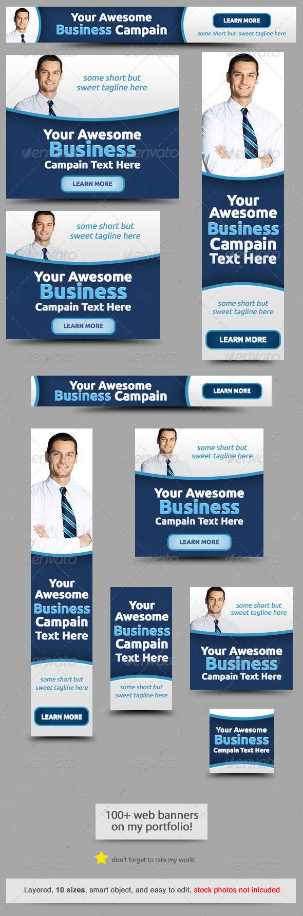 GraphicRiver Corporate Web Banner Design Template 47 8358267