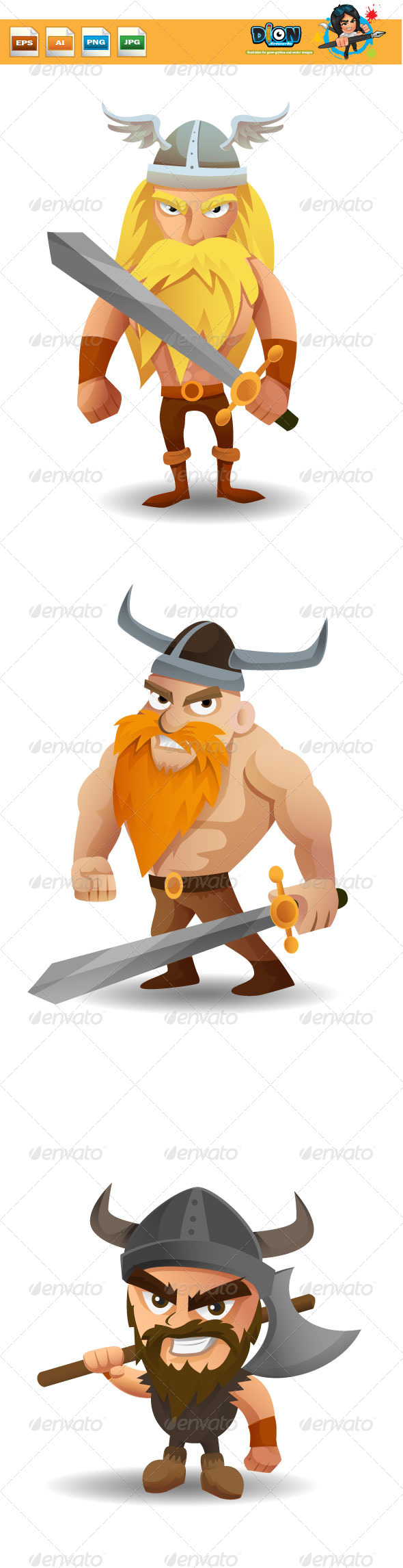 GraphicRiver Vikings 8358296
