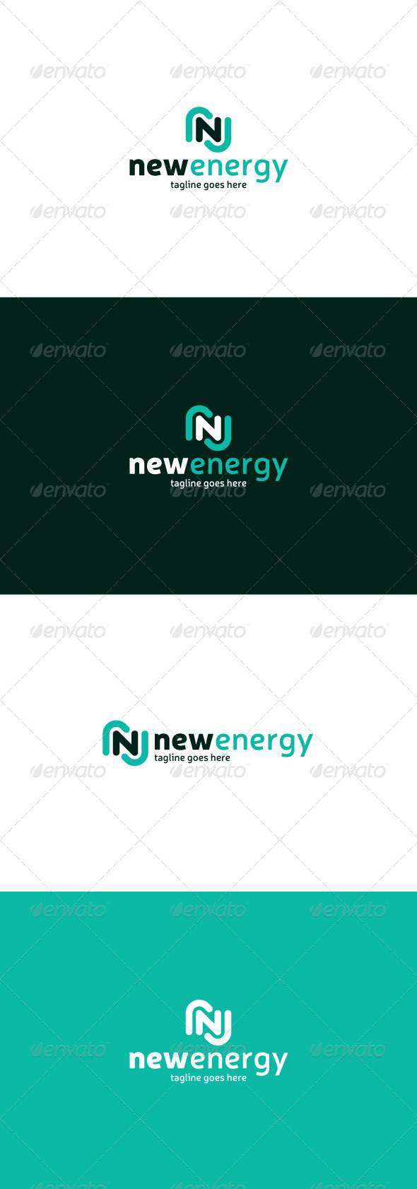 GraphicRiver New Energy Logo Letter E 8358303