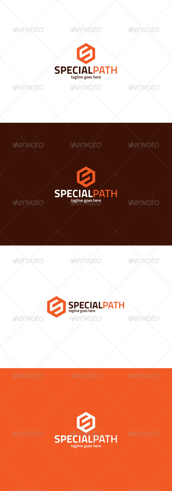 GraphicRiver Special Path Logo Letter S 8358645