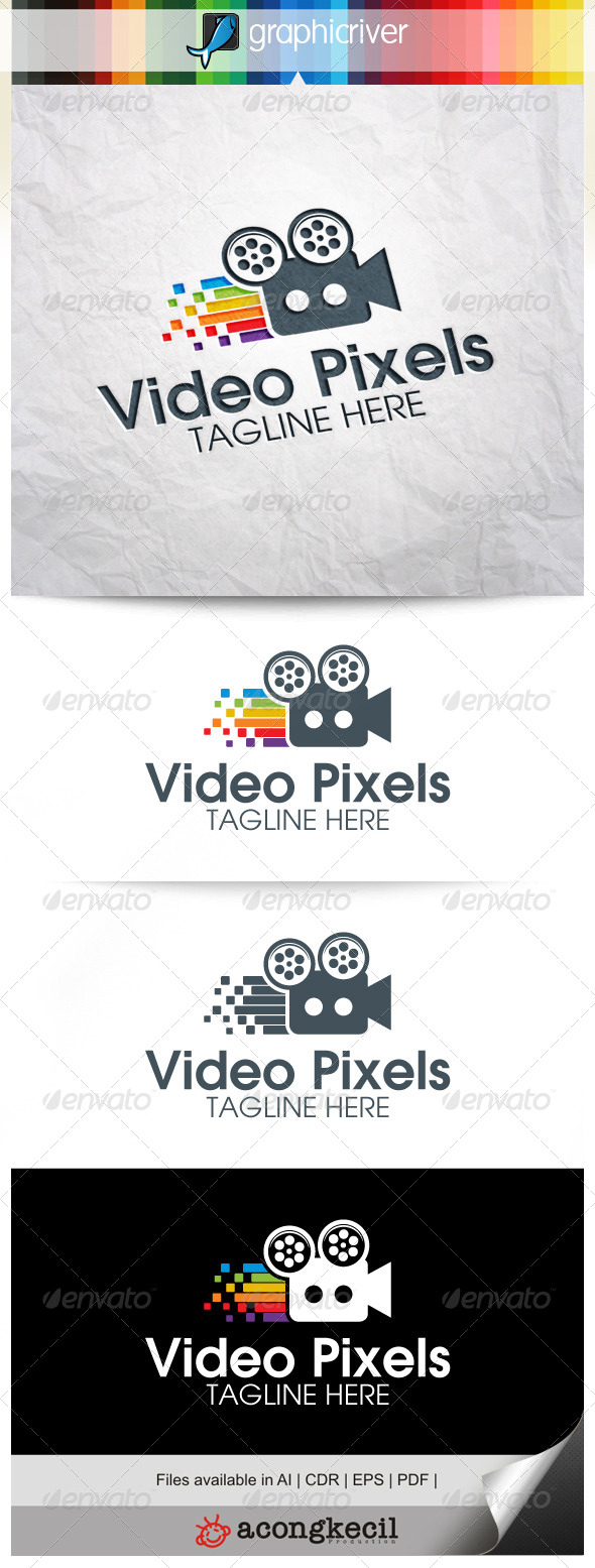 GraphicRiver Video Pixels 8359855