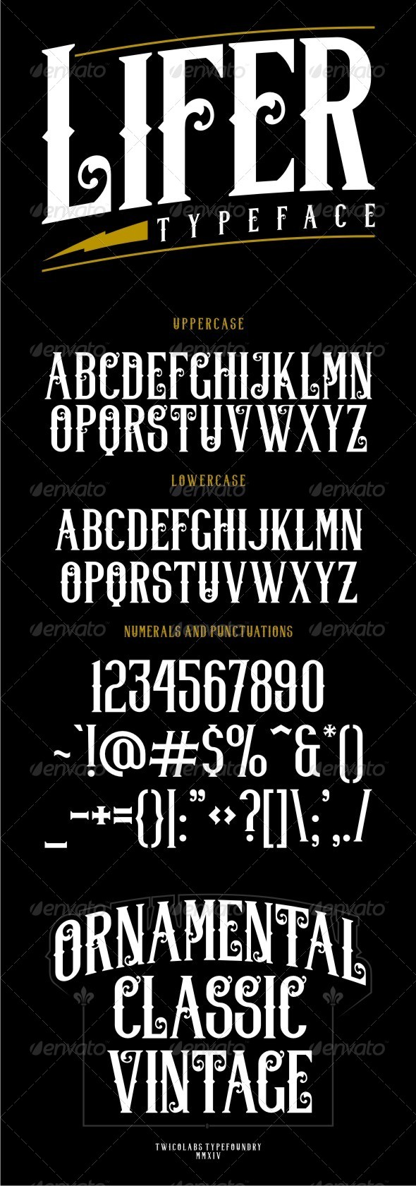 GraphicRiver Lifer Typeface 8364397