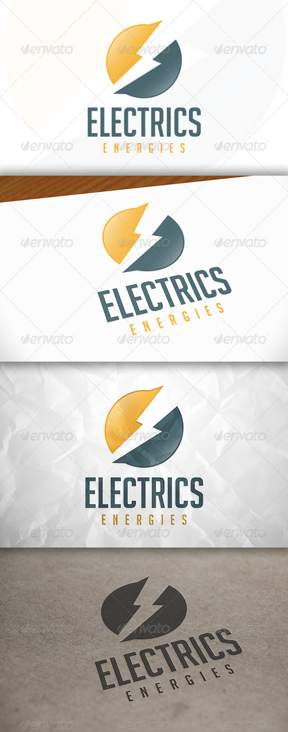 GraphicRiver Electric Logo 8364407