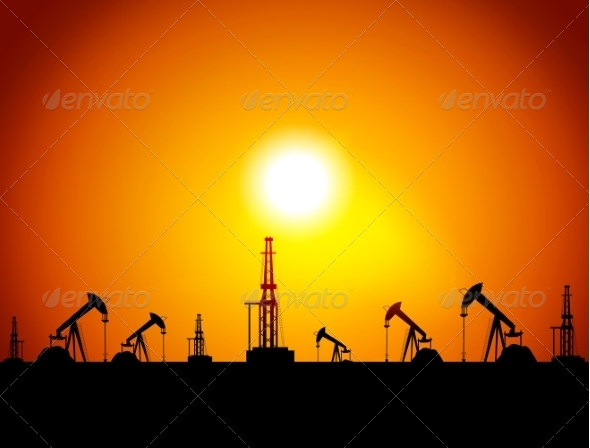 GraphicRiver Oil Station 8364603