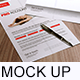 Realistic Flyers / Posters / Resume Mockups - GraphicRiver Item for Sale