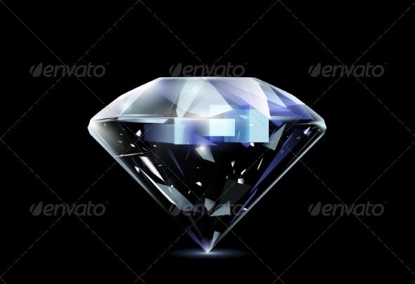 GraphicRiver Realistic Diamond 8364661