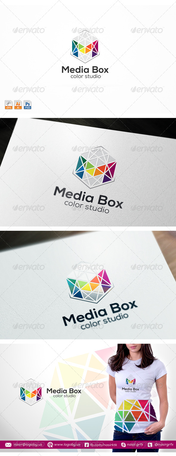 GraphicRiver Multimedia M Logo 8364714