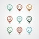 Mapping Pins Icon - GraphicRiver Item for Sale