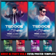 Guest DJ Party Ver.9 Flyer/Poster Template  - GraphicRiver Item for Sale