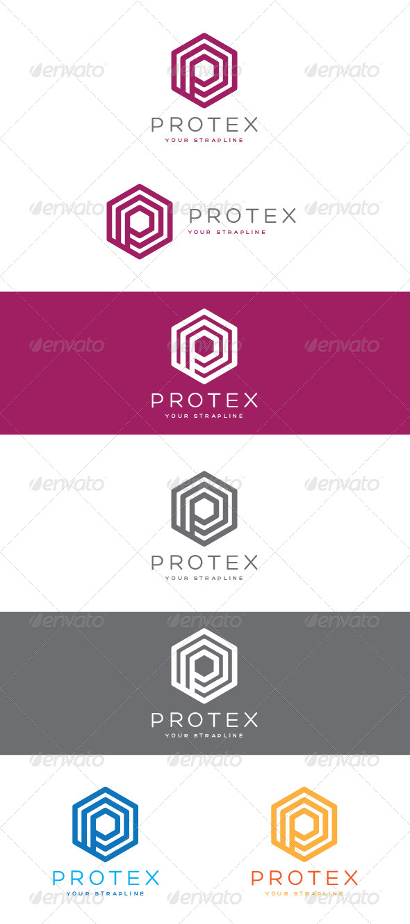 GraphicRiver Protex Logo 8365086