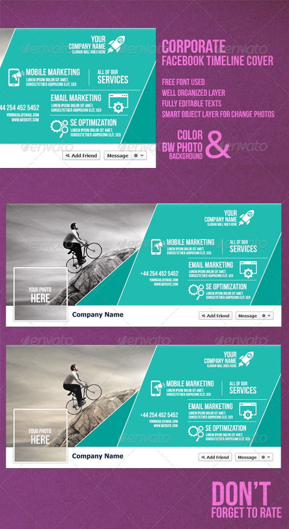 GraphicRiver Corporate Timeline Cover 8365719